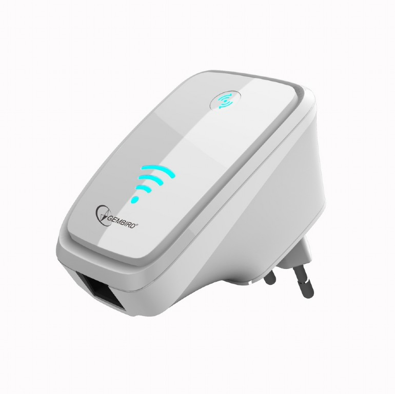 wifi repeater 300 mbps white wnp rp 002 w. Black Bedroom Furniture Sets. Home Design Ideas