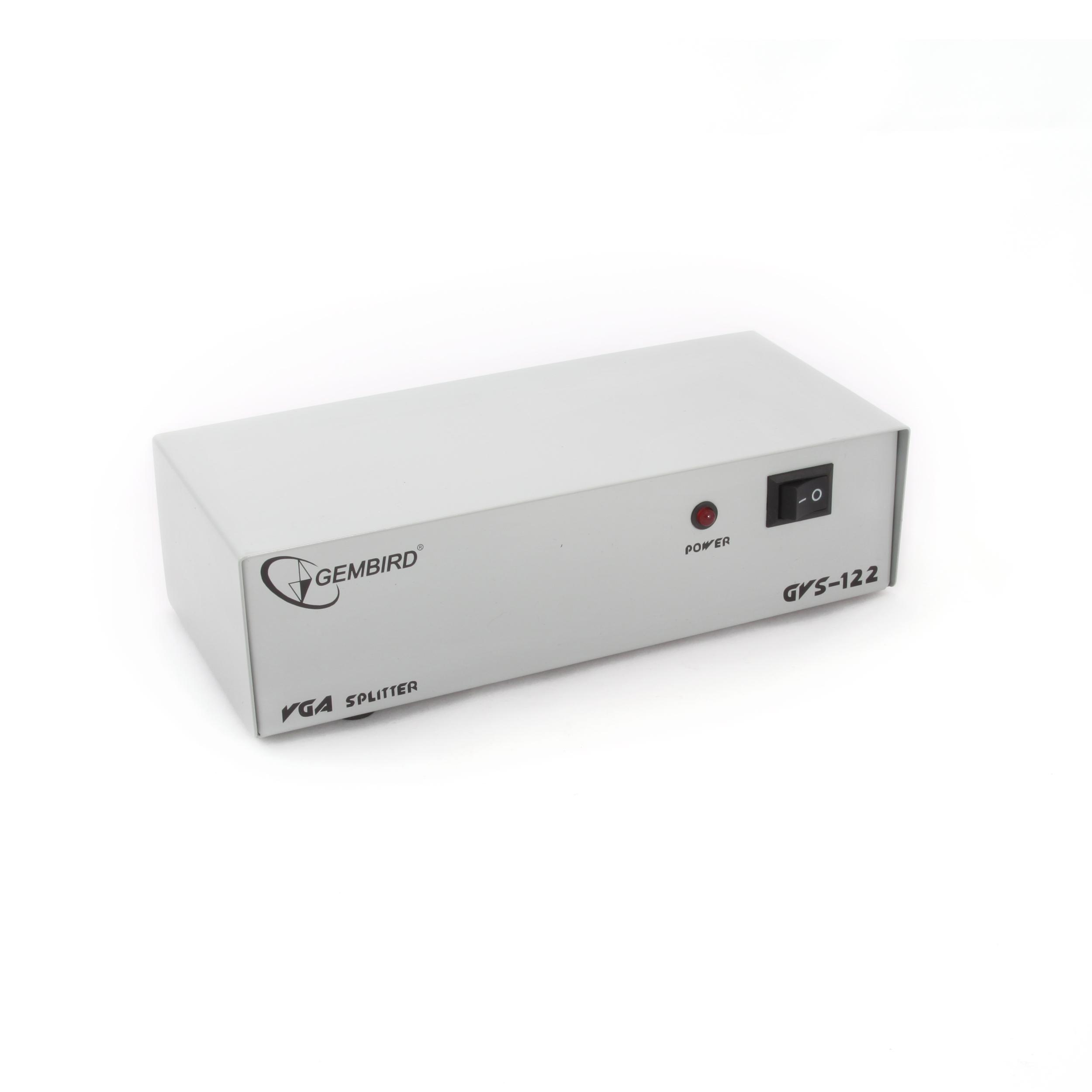 Vga Splitter 2 Port Gvs122 Converter Spliter 909 Kb
