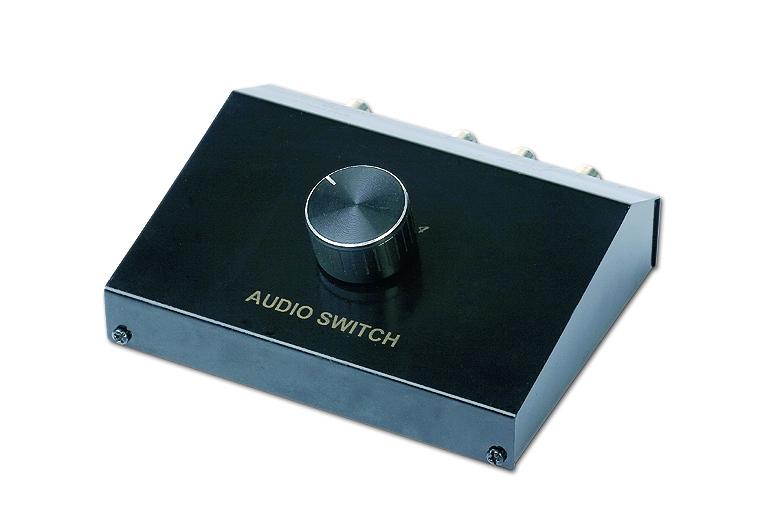 4 way audio signal input manual switch box dsa 4 rh gmb nl